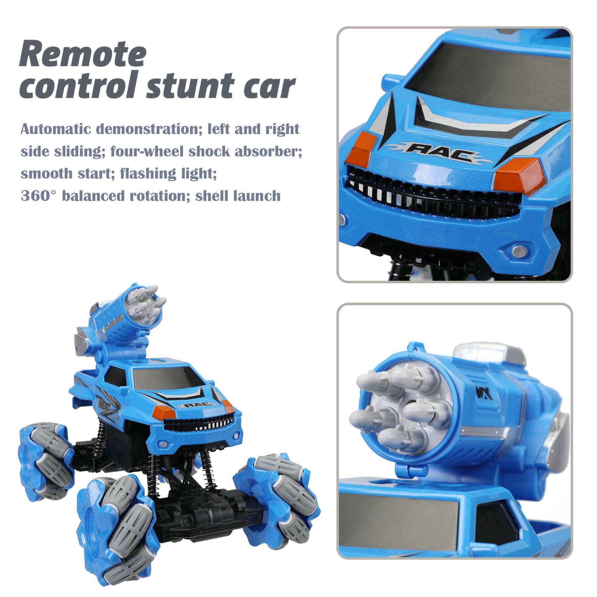 Gesture Sensing RC Stunt Car for Kids, Blue 5 5