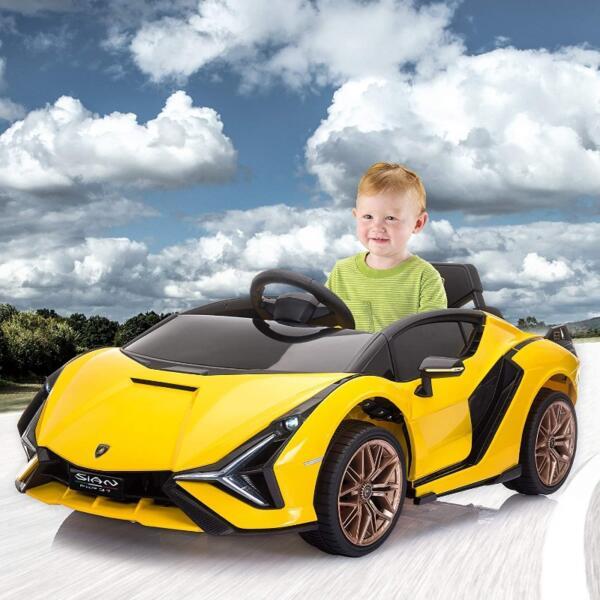 Licensed Lamborghini Sian Car Toy w/ Scissor Door 5 55