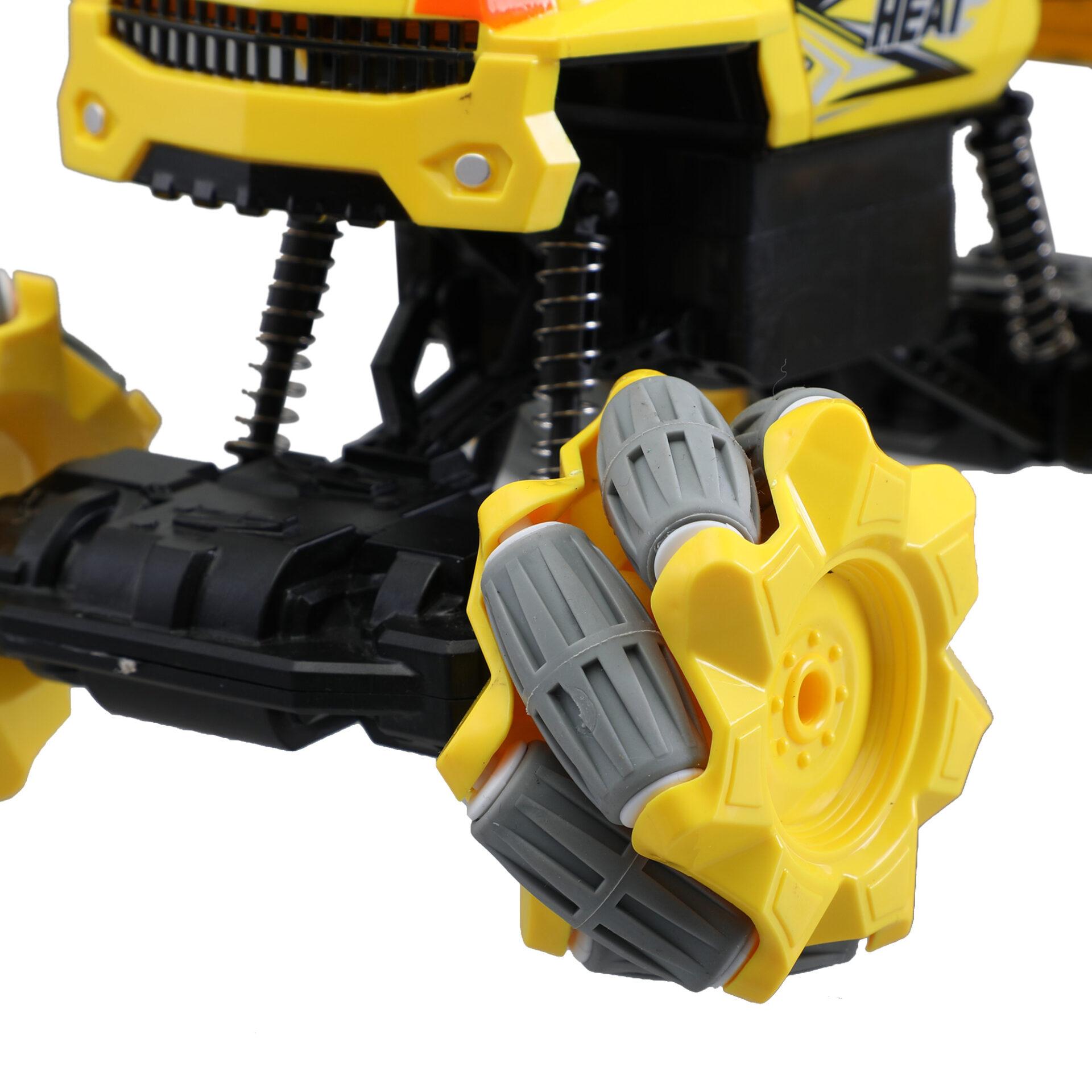 Gesture Sensing RC Stunt Car for Kids, Yellow 5 6