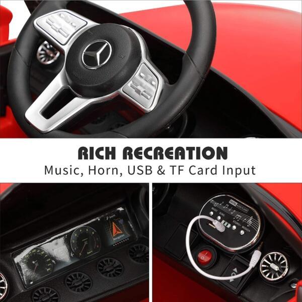 Licensed Mercedes Benz CLS 350 Ride On Car for Kids, Red 5 63