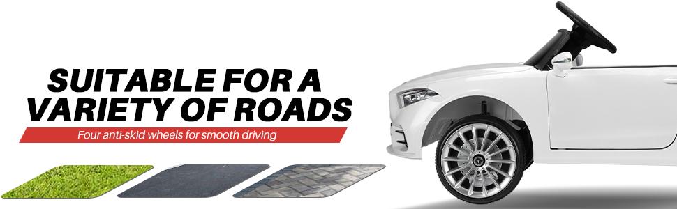 12V Electric Car for Kids Licensed Mercedes Benz CLS 350 Ride On Car 5 73