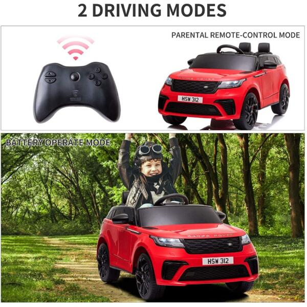 12V Licensed Range Rover Vehicle Ride On Car with Remote 5 76