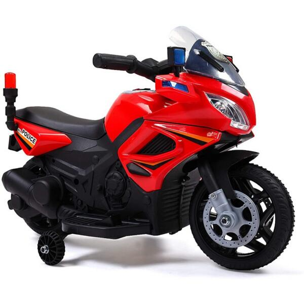 Kids Ride On Electric 4 Wheel Police Motorcycle for 2-4 Years 5 78