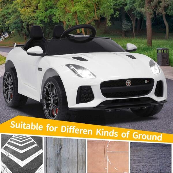 12V Battery Powered Ride-on Jaguar F-Type SVR Car Toy 5 80