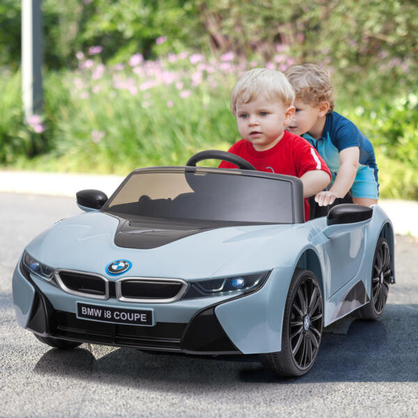 BMW Ride on Car With Remote Control For Kids, Blue 5 86
