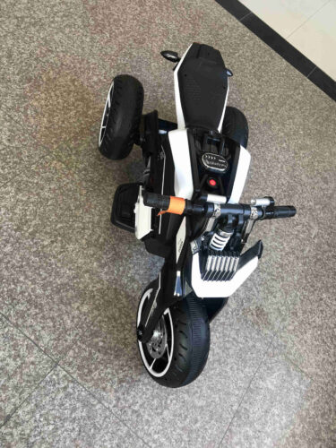 6V Battery Power Ride On Motorcycle for Kids, Black photo review