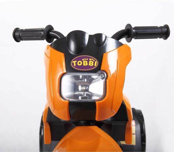 6V Kids Motorcycle Battery Powered Motorcycle for Kids, Orange 6 16