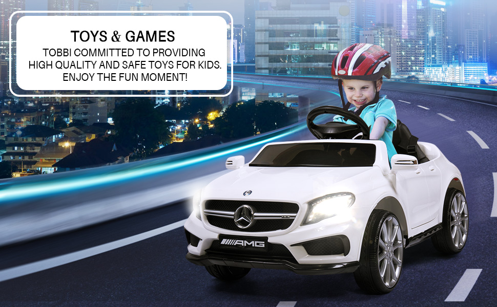 Licensed Mercedes Benz RC Car Toy with Double Doors, White 6 39