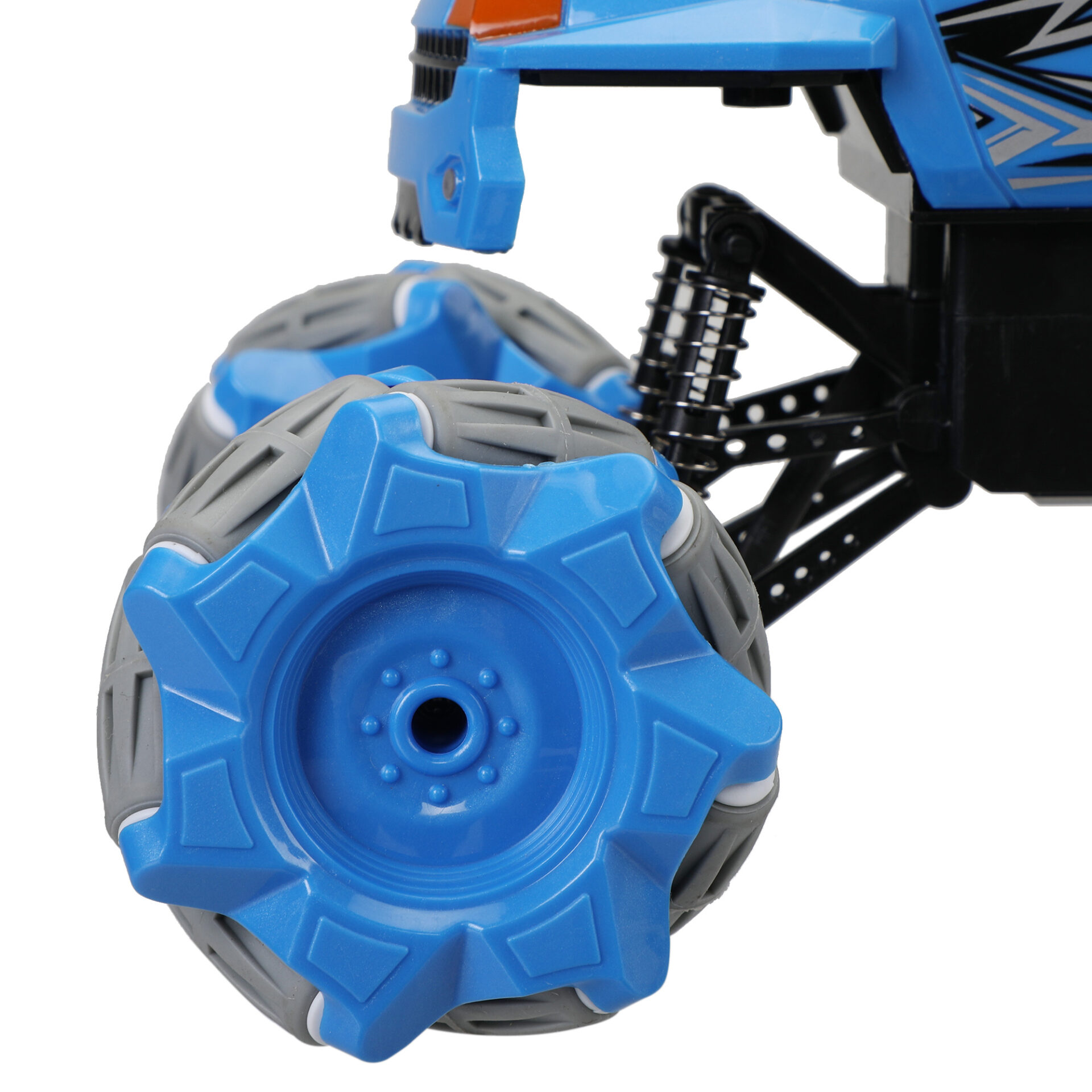 Gesture Sensing RC Stunt Car for Kids, Blue 6 4
