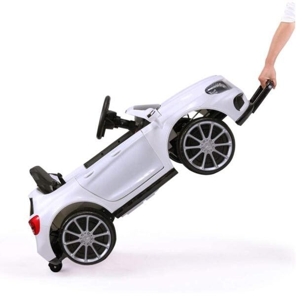 Licensed Mercedes Benz RC Car Toy with Double Doors, White 6 40