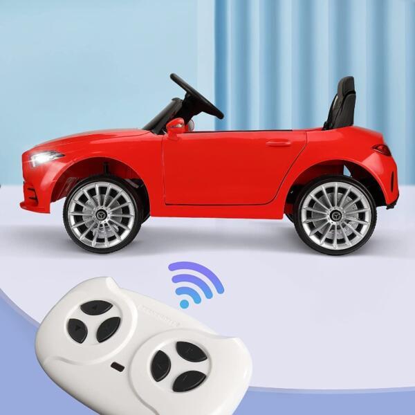 Licensed Mercedes Benz CLS 350 Ride On Car for Kids, Red 6 58