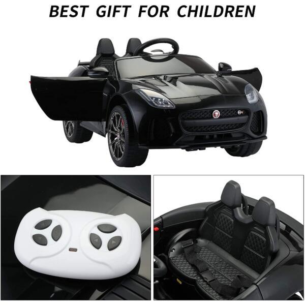 12V Kids Electric Ride on Car Toy Jaguar F-Type SVR 6 64