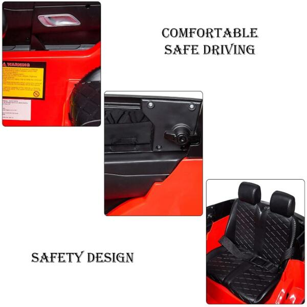 12V Licensed Range Rover Vehicle Ride On Car with Remote 6 68