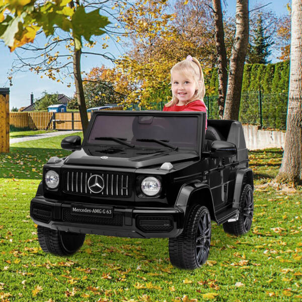 12V Mercedes-Benz AMG G63 Kids Ride On Cars Toys with Remote Control, Black 6 75