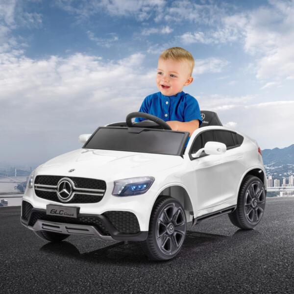 MercedesBenz GLC Licensed Kid's Electric Toy Car Vehicle, White 6 77