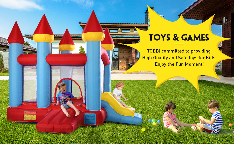 Inflatable Bounce House Jumping Castle with Slide 65d50895 79f3 4d97 81ed a9e1a765f675. CR00970600 PT0 SX970 V1