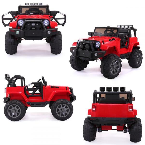 12V Kids Jeep Wrangler Electric Car W/ RC 672feb1e 0f15 4d33 8d68 79029235d2fc 1 kids jeep