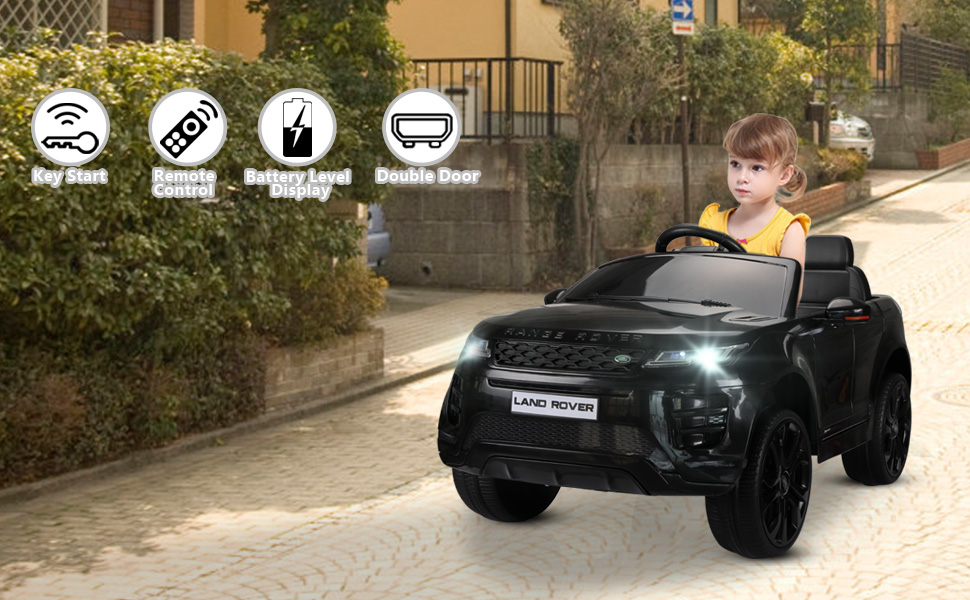 12V Land Rover Kids Power Wheels Ride On Toys With Remote, Black 698fcc19 8b89 4f2b b327 64316a6ba34a. CR00970600 PT0 SX970 V1 1