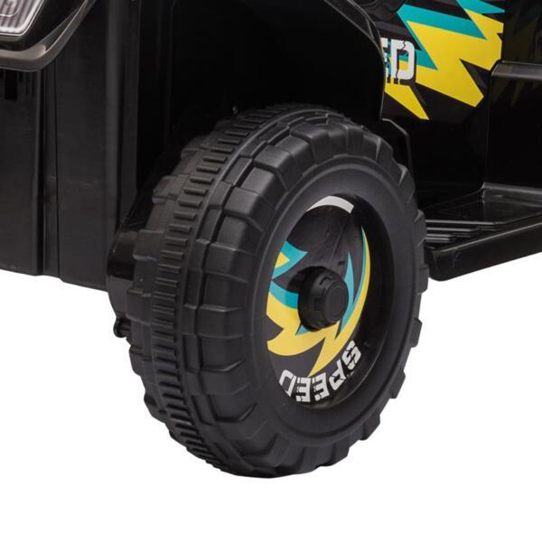 6V Electric Ride on Quad ATV For Kids, Black 6v kids 4 wheeler quad ride on atv black 31