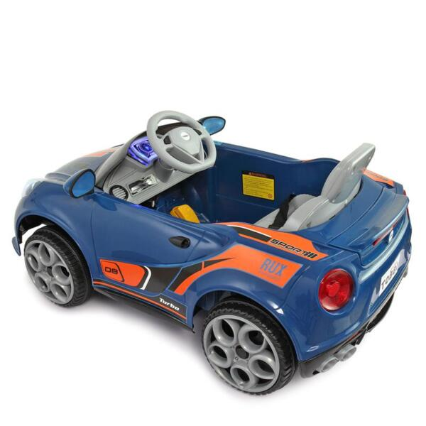 6V Powered Riding Toys with MP3, Blue 6v kids electric car with mp3 head light blue 1