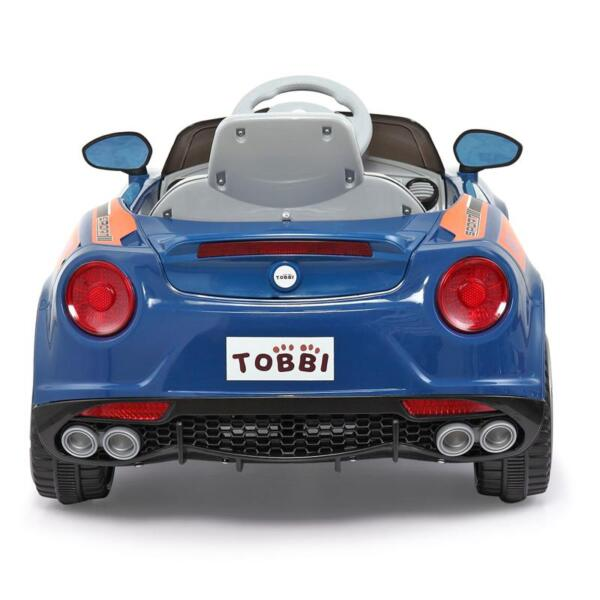 6V Powered Riding Toys with MP3, Blue 6v kids electric car with mp3 head light blue 26
