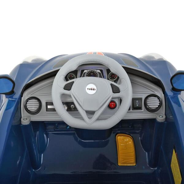 6V Powered Riding Toys with MP3, Blue 6v kids electric car with mp3 head light blue 28 1