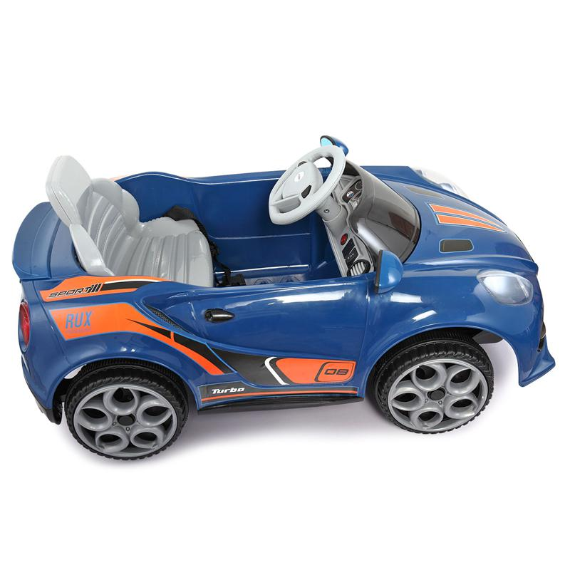 6V Powered Riding Toys with MP3, Blue 6v kids electric car with mp3 head light blue 7 1