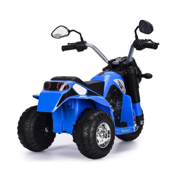 6V Kids Ride On Motorcycle 3 Wheel Bicycle, Blue 6v kids ride on motorcycle 3 wheel bicycle blue 10