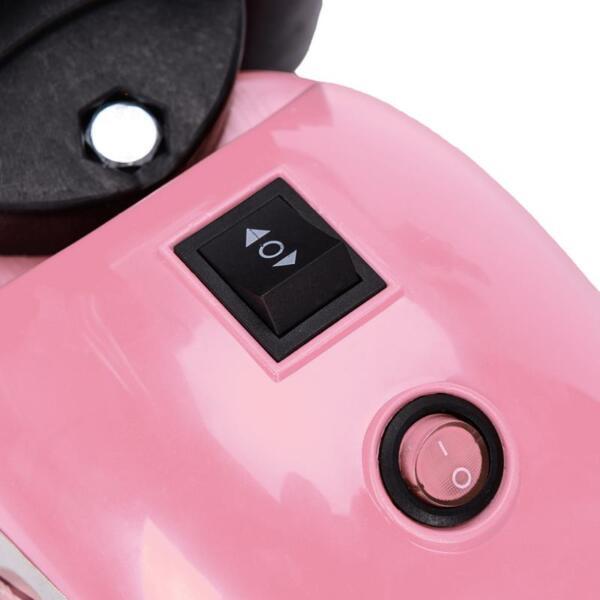 6V 3 Wheel Motorcycle for Kids, Pink 6v kids ride on motorcycle 3 wheel bicycle pink 20