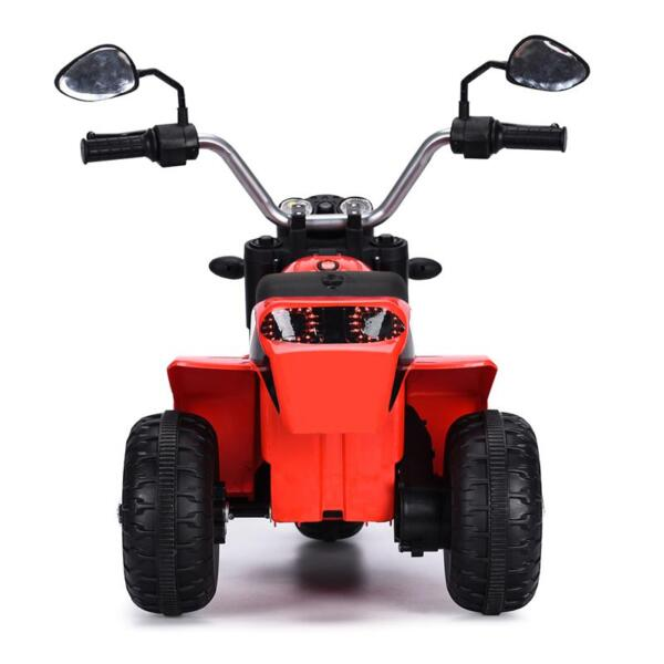 6V Kids Ride On Motorcycle 3 Wheel Bicycle, Red 6v kids ride on motorcycle 3 wheel bicycle red 14
