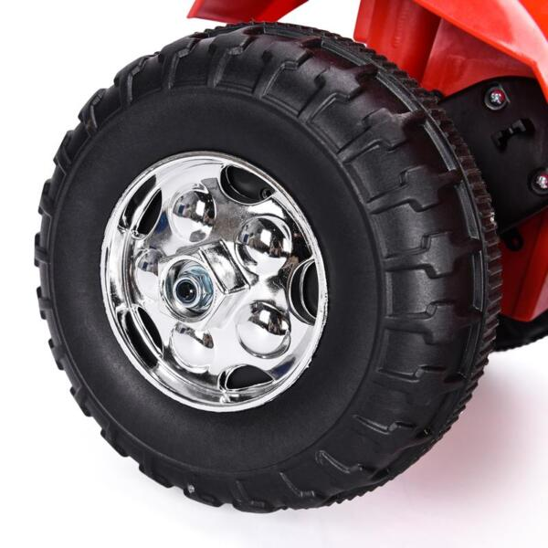 6V Kids Ride On Motorcycle 3 Wheel Bicycle, Red 6v kids ride on motorcycle 3 wheel bicycle red 28