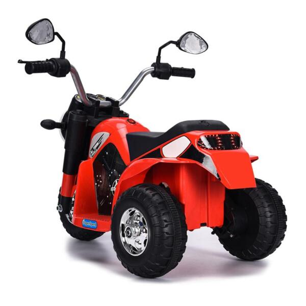 6V Kids Ride On Motorcycle 3 Wheel Bicycle, Red 6v kids ride on motorcycle 3 wheel bicycle red 8