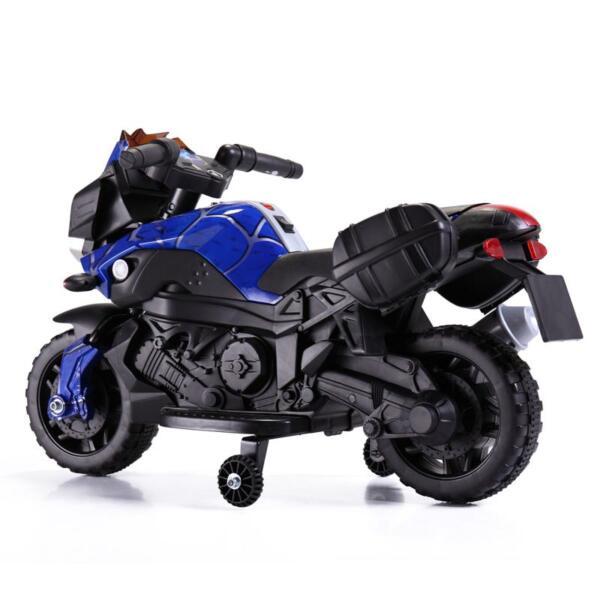 6V Kids Ride On Motorcycle, Blue 6v kids ride on motorcycle blue 20 1