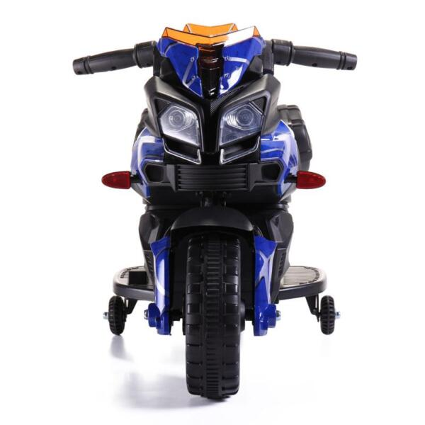 6V Kids Ride On Motorcycle, Blue 6v kids ride on motorcycle blue 24 1