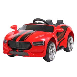 6V Rechargeable Kid's Ride on Sports Car W/RC