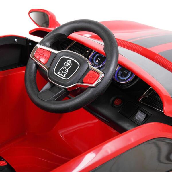 6V Kids Ride On Racing Car, Red 6v kids ride on racing car blue 29
