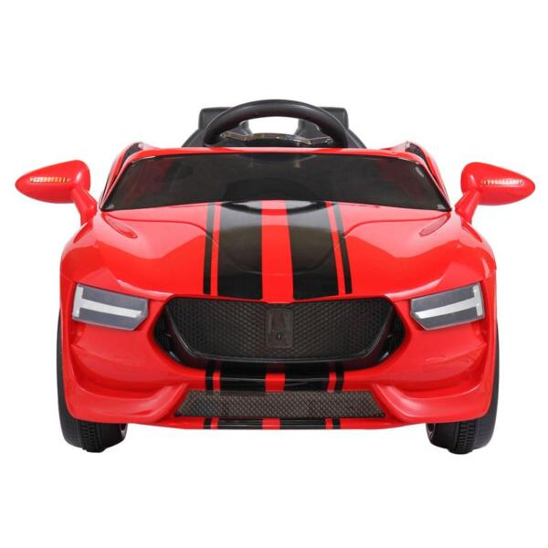 6V Kids Ride On Racing Car, Red 6v kids ride on racing car blue 3
