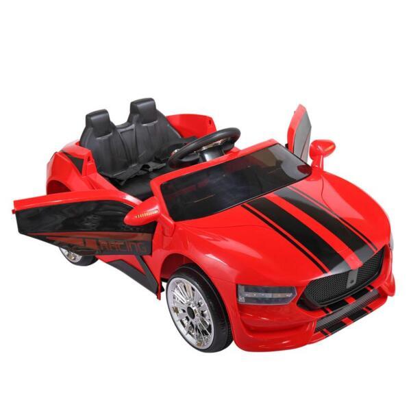6V Kids Ride On Racing Car, Red 6v kids ride on racing car blue 7