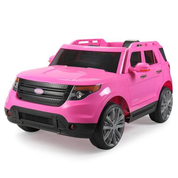 6V Remote Control Kids Ride On Car, Pink 6v remote control kids ride on car pink 10