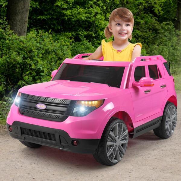 6V Remote Control Kids Ride On Car, Pink 6v remote control kids ride on car pink 23