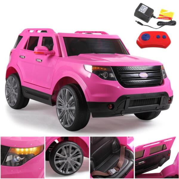 6V Remote Control Kids Ride On Car, Pink 6v remote control kids ride on car pink 25