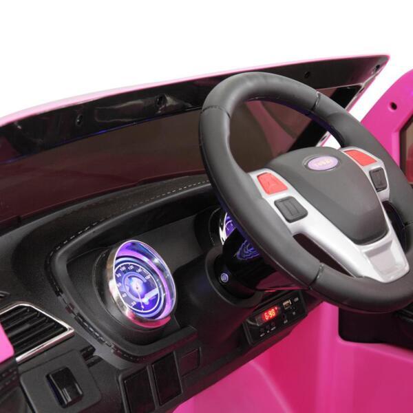 6V Remote Control Kids Ride On Car, Pink 6v remote control kids ride on car pink 38 1