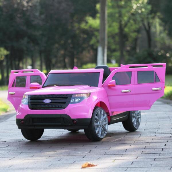 6V Remote Control Kids Ride On Car, Pink 6v remote control kids ride on car pink 45