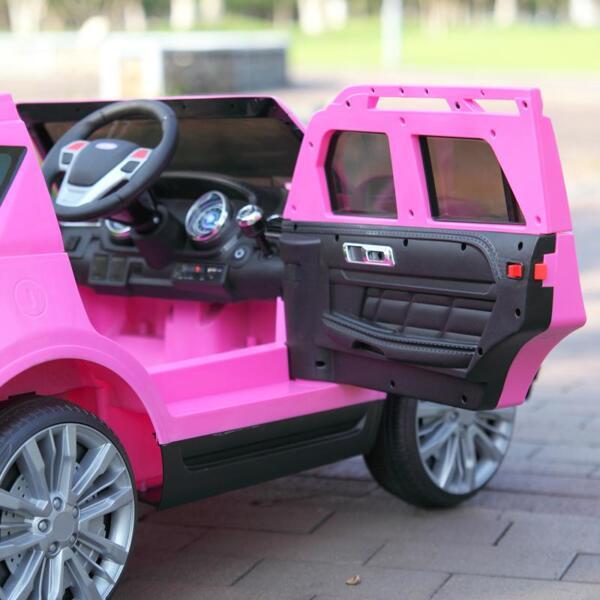 6V Remote Control Kids Ride On Car, Pink 6v remote control kids ride on car pink 52