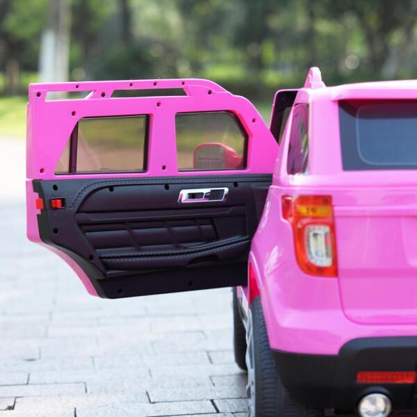 6V Remote Control Kids Ride On Car, Pink 6v remote control kids ride on car pink 57