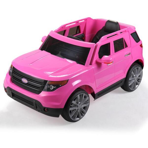 6V Remote Control Kids Ride On Car, Pink 6v remote control kids ride on car pink 6 1