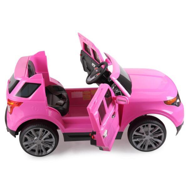 6V Remote Control Kids Ride On Car, Pink 6v remote control kids ride on car pink 7 1