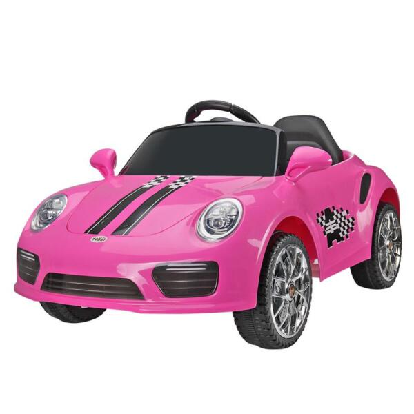 6V Remote Control Kids Ride on Car with MP3, Pink 6v remote control kids ride on car with mp3 pink 7