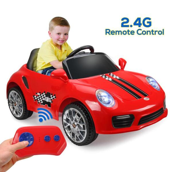 6V Remote Control Kids Ride on Car with MP3, Red 6v remote control kids ride on car with mp3 red 19