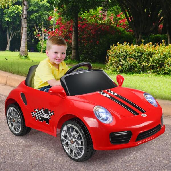 6V Remote Control Kids Ride on Car with MP3, Red 6v remote control kids ride on car with mp3 red 20